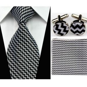 Other - Black and White Gravatas Tie Set